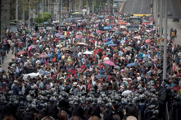 Refuerzan vigilancia para evitar bloqueos de la #CNTE en la #CDMX