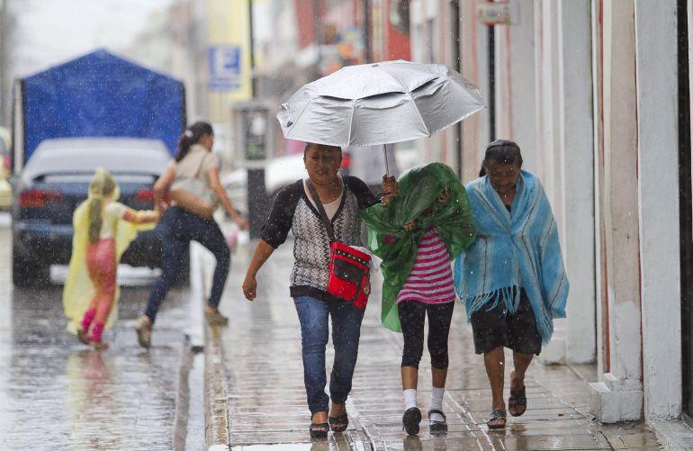 Persistirán lluvias fuertes en la mayor parte del país