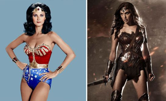 El antes y el ahora de superhéroes y villanos en el cine