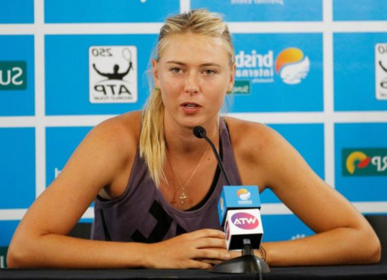 María Sharapova es sancionada con dos años de suspensión