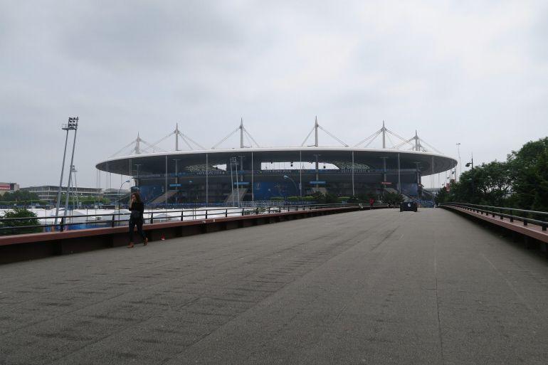 Medidas de seguridad en París previo al comienzo de la Eurocopa