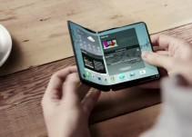 Presentan tablet que se dobla y teléfono plegable
