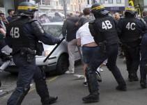 Policía francesa detiene a 36 pseudoaficionados en Lille