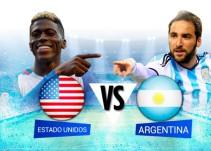 Estados Unidos y Argentina buscan el primer pase a la Final de Copa América