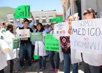 #YoSoyMédico17, la manifestación del gremio de salud en el país