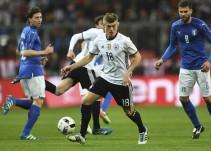 Alemania-Italia, el cruce más parejo de los cuartos de final de la Eurocopa