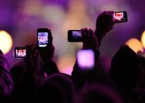 Apple podría bloquear la cámara de tu celular en conciertos