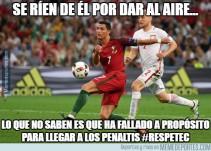 Los mejores memes del partido entre Polonia y Portugal