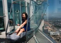 Rascacielos de Los Ángeles tendrá un tobogán de vidrio