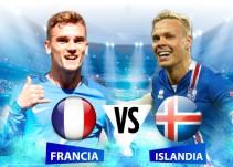 El anfitrión Francia busca el último pase a semifinales ante la sorpresiva Islandia
