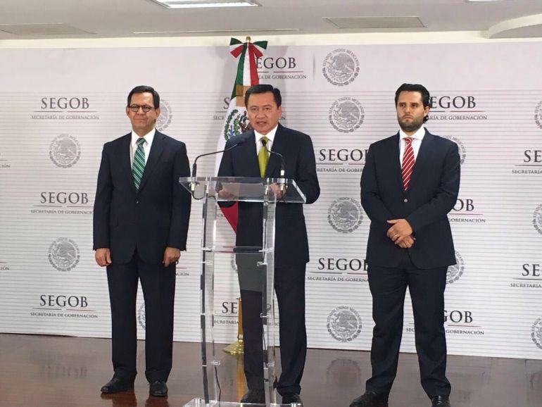 Mexicanos cuentan con el respaldo del gobierno mexicano: Osorio Chong