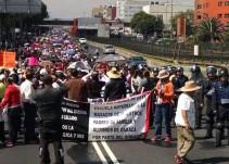 CNTE inicia movilizaciones en cuatro puntos de la CDMX