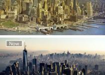 El antes y el después de las ciudades más famosas del mundo