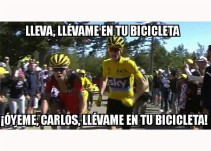 Los memes del ciclista que se quedó sin bicicleta en el Tour de Francia