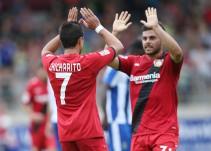 Chicharito rescata empate del Bayer Leverkusen en contra del Porto