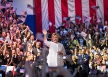 Hillary Clinton hace historia; es la primera mujer candidata en elecciones presidenciales de EU