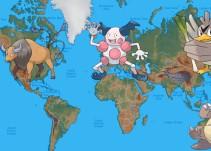Aquí el mapa que te ayudará a atrapar todos los Pokémon