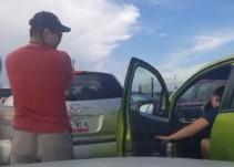 #LadyPuente: Intenta meterse a la fila del Puente Internacional de Reynosa