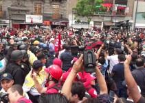 Piden empresarios a CNTE detener métodos violentos