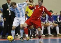 El partidazo entre Argentina y Rusia en el Mundial de Futbol de Sala en 2008