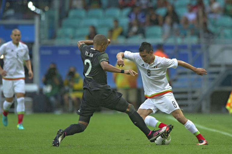 El Tricolor Sub 23 iguala ante Alemania en su debut en los juegos de Brasil