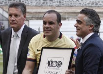 El último América-Morelia sirvió como homenaje a Cuauhtémoc Blanco