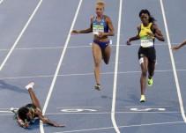 ¿Es válido tirarse de cabeza a la meta en el atletismo?