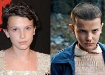 """""""Eleven"""" muestra su transformación para """"Stranger Things"""""""