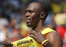 Usain Bolt festeja su cumpleaños en Brasil al ritmo de la música