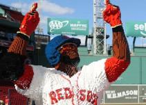 LEGO diseña estatua en honor al beisbolista dominicano David Ortíz