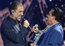 Alejandro Fernández recuerda a Juan Gabriel durante un concierto