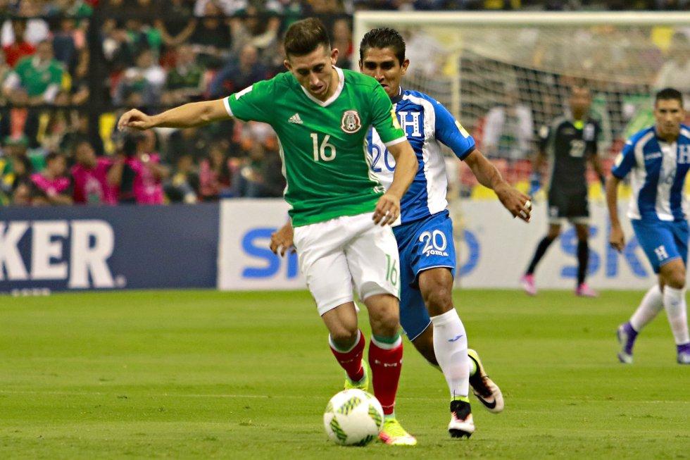 Las imágenes del empate sin goles entre México y Honduras