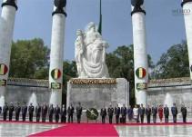 El presidente encabeza la ceremonia del 169 aniversario de la gesta heroica