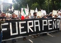 Las imágenes de la marcha #RenunciaYa