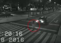 Fantasma aparece sobre avenida Reforma
