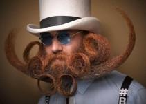 Llega el concurso anual de bigotes y barbas más extravagantes del mundo