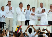 Colombia firma acuerdo de paz con las FARC