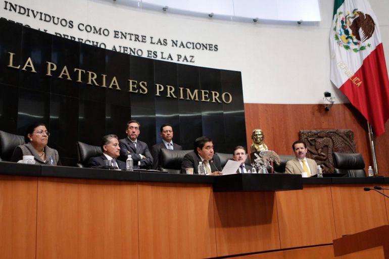 Presenta PRD en el Senado propuesta para eliminar fuero