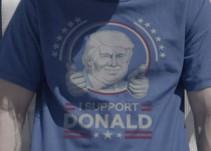 """Mexicano """"trollea"""" con unas playeras a seguidores de Donald Trump"""