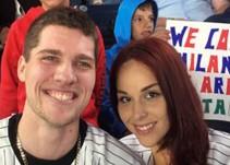 Un fan de los Yankees pierde el anillo mientras le pedía matrimonio a su novia
