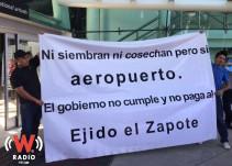 Así fue el bloqueo en el Aeropuerto de Guadalajara