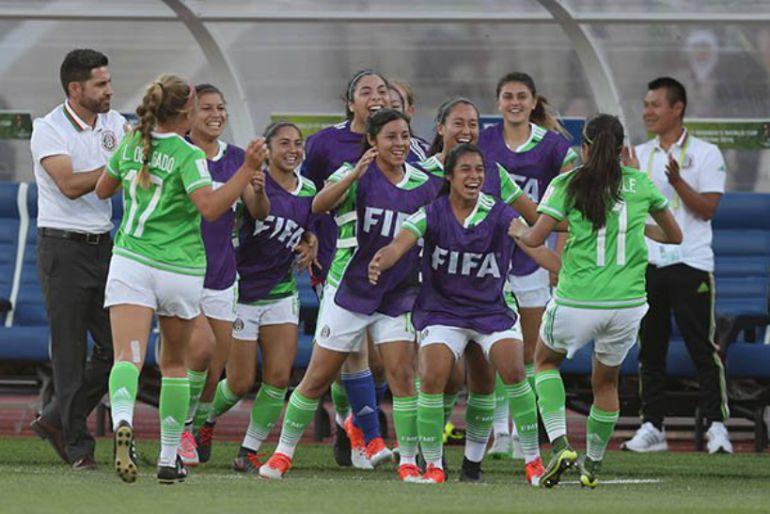 Los goles del exitoso debut mundialista del Tricolor Femenil Sub 17