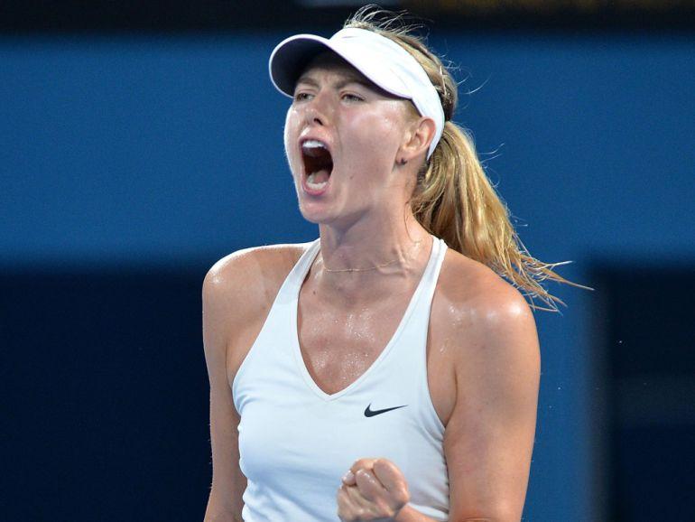 Tenis: María Sharapova regresará a la actividad en abril del próximo año