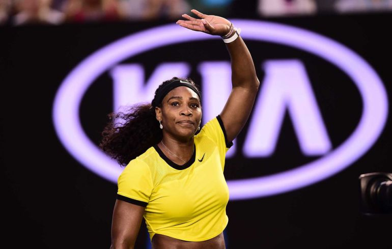 Serena Williams aprovecha su tiempo libre para bailar