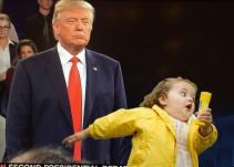 El segundo debate Hillary vs. Trump en memes