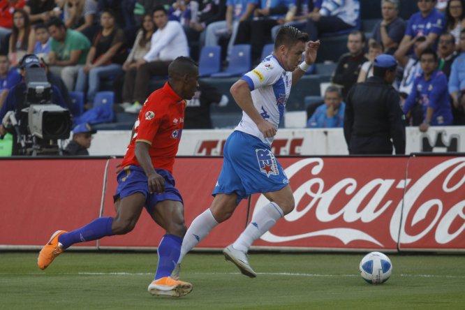Cruz Azul venció 1-0 a Puebla en el Estadio Azul en el Clausura 2014