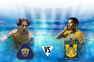 Pumas y Tigres protagonizan un duelo de altura en Ciudad Universitaria