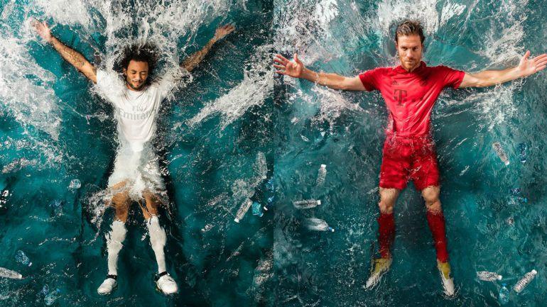 Real Madrid y Bayern Münich utilizarán camisetas reciclables