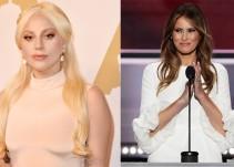 Lady Gaga estalla contra la esposa de Trump