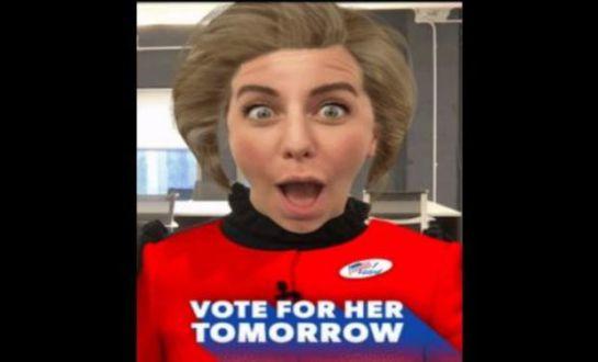 ¿Snapchat apoya a Hilary Clinton?